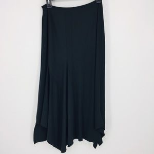 Marithe Francois Girbaud Black Lagenlook Skirt 6